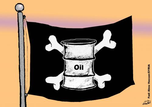 Cartoon: oil crisis 2 (medium) by FADI1975 tagged hjffsd