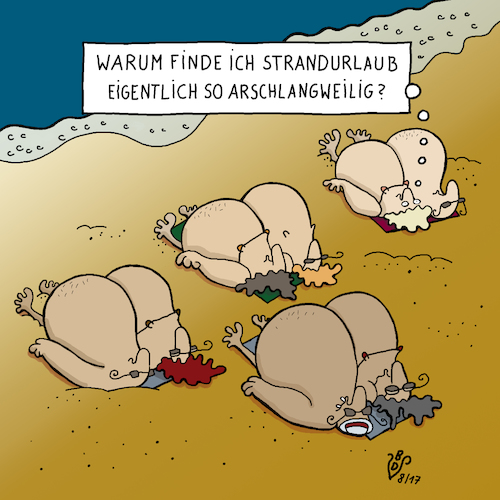 Cartoon: Strandurlaub (medium) by Dodenhoff Cartoons tagged strand,übergewicht,langeweile,meer,sommerurlaub,zivilisationskrankheiten,adipositas,strandsand,verdauungsprobleme,lethargie,touristen,tourismus