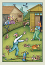 Cartoon: garten 064 (small) by kurtu tagged yes