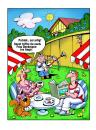 Cartoon: nachbarn (small) by kurtu tagged no,