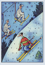 Cartoon: Skifahrer (small) by kurtu tagged yes