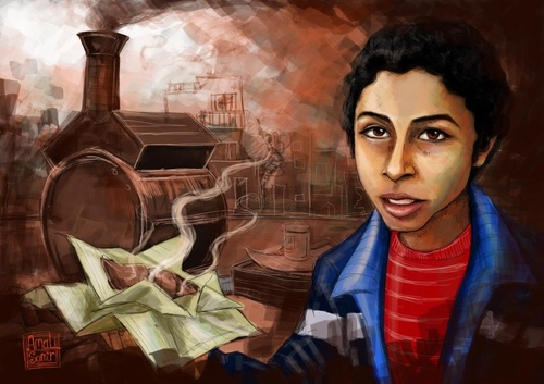 Cartoon: Batata boy (medium) by Amal Samir tagged poor,boy,egypt