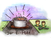 Cartoon: der Ei-Pott... (small) by martinchen tagged ei,eier,pott,topf,ipod