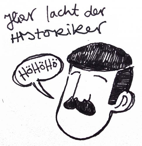 Cartoon: Historiker (medium) by Peter Russel tagged hö,