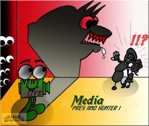 Cartoon: media (medium) by asrus tagged media