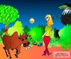 Cartoon: LOve !! (small) by asrus tagged love