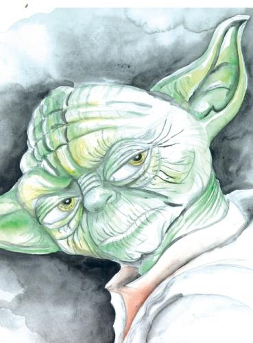 Cartoon: yoda (medium) by Mario Almaraz tagged yoda,