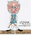 Cartoon: Narendra Modi (small) by Amar cartoonist tagged amar,cartoons