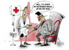 Cartoon: Hochdruck Blood pressure (small) by paraistvan tagged hochdruck,blood,pressure,medic,doctor,lush,medical,surgery