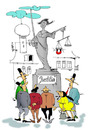 Cartoon: Wahrheit Iustitia (small) by paraistvan tagged wahrheit,iustitia,justice,true,statue,cheat