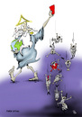 Cartoon: Rette die Welt   Save the world (small) by paraistvan tagged welt,world,ball