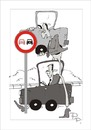 Cartoon: Traffic sign (small) by paraistvan tagged traffic,sign,overhead,smart
