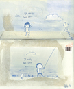 Cartoon: If only... (small) by thomas_hollnack tagged boy,girl,love,relationship,autumn