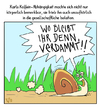 Cartoon: ... (small) by Tobias Wieland tagged schnecke,kaffee,slug,snail,coffee,sucht,addiction