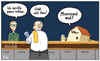 Cartoon: Lass stecken! (small) by Tobias Wieland tagged haus,kneipe,bar,wirt,umsonst,gast