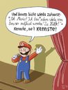 Cartoon: SUPER-MARIO BARTH (small) by Tobias Wieland tagged super,mario,barth,comedy,stand,up