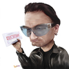 Cartoon: Bono faces a tax demand (small) by Dom Richards tagged bono,rock,tax,u2,ireland,uk