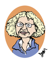 Cartoon: competition entry no.5 (small) by Dom Richards tagged bookstore,caricature