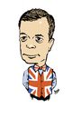 Cartoon: Nigel Farage (small) by Dom Richards tagged farage,ukip,caricature