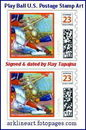 Cartoon: Play Ball stamp by Ray Tapajna (small) by ray-tapajna tagged play,ball,sports,baseball,us,postage,stamp,art,by,ray,tapajna,rare,very,limited,edition,collectible