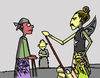 Cartoon: Quite Audience (small) by yan setiawan tagged wayang,puppet