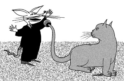 Cartoon: mouse leader (medium) by Medi Belortaja tagged leader,mouse