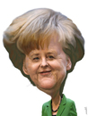 Cartoon: Angela Merkel (small) by Medi Belortaja tagged angela,merkel