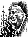 Cartoon: Ariel Sharon (small) by Medi Belortaja tagged ariel,sharon,israel,prime,minister