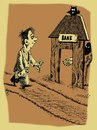 Cartoon: bank (small) by Medi Belortaja tagged bank,despoiler