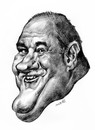 Cartoon: james gandolfini (small) by Medi Belortaja tagged james,gandolfini,actor