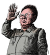 Cartoon: kim jong il (small) by Medi Belortaja tagged kim,jong,il
