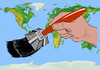 Cartoon: maya brush (small) by Medi Belortaja tagged maya,brush,apocalipse,earth,world,2012