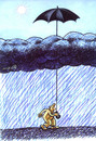 Cartoon: umbrella (small) by Medi Belortaja tagged umbrella,rain,clouds,humor