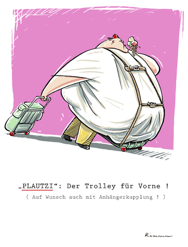 Cartoon: Plautzi (medium) by Riemann tagged dick,fett,uebergewicht,trolley,junk,food,obesity,fat,society,gesellschaft,culture,kultur,dick,fett,uebergewicht,trolley,junk,food,obesity,fat,society,gesellschaft,culture,kultur
