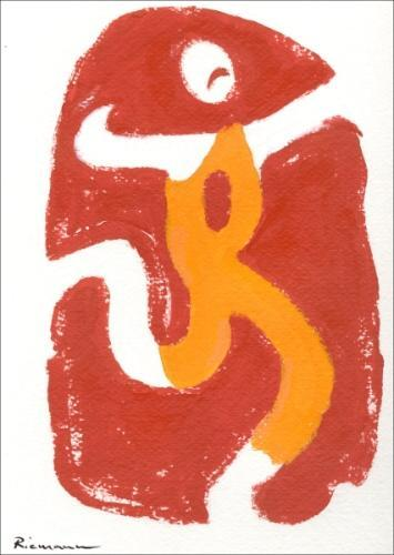 Cartoon: Olympia Logo 2008 (medium) by Riemann tagged tibet,china,olympics,logo,oppression,politics,monks,