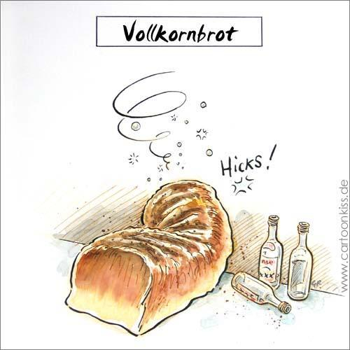 Cartoon: Vollkorn (medium) by Riemann tagged drama,alkohol