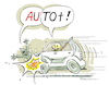 Cartoon: Auto (small) by Riemann tagged auto,tod,unfall,fussgaenger,verkehr,sensenmann,wortspiel,cartoon,george,riemann