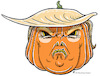 Cartoon: Trump Maske (small) by Riemann tagged trum maske halloween horror pumpkin kürbis papiermaske ausschneiden donald trump mask cut out george riemann