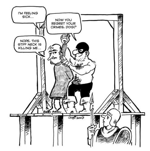 Cartoon: Hangman (medium) by jobi_ tagged black,humour,