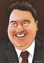 Cartoon: Ali Babacan (small) by necmettinasma tagged ali,babacan,cartoon,necmettin,asma