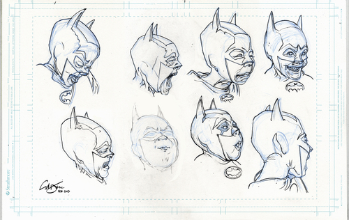 Cartoon: Bat Boys (medium) by halltoons tagged batman,comic,characters,comicbook,manga,drawing