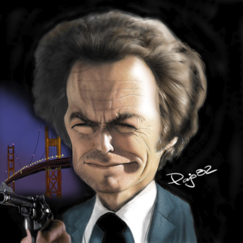 Cartoon: Clint Eastwood (medium) by Pajo82 tagged clint,eastwood