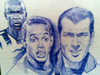 Cartoon: football stars (small) by Pajo82 tagged football,stars