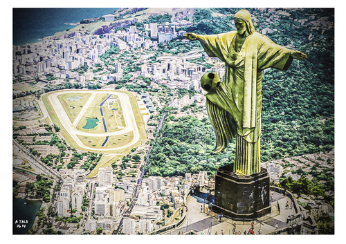 Cartoon: Capital do futebol (medium) by A Tale tagged photoshop,art,digital,composing,sport,dandeln,jonglieren,ball,redentor,cristo,statue,christus,janeiro,de,rio,brasilien,football,fifa,cup,world,brazil,2014,weltmeisterschaft,wm,fußball,fußball,wm,weltmeisterschaft,2014,brasilien,rio,de,janeiro,christus,statue,cristo,redentor,ball,jonglieren,dandeln,sport,composing,digital,art,photoshop