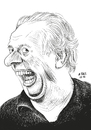 Cartoon: Dario Fo (small) by A Tale tagged dario,fo,gestorben,2016,italien,autor,schauspieler,satiriker,bühne,theater,dramatiker,literatur,nobelpreis,karikatur,zeichnung,porträt,nachruf,tale,agostino,natale