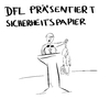 Cartoon: Wider die Fankultur (small) by Umsturzworte tagged dfl,ultras,fußball,fankultur