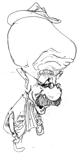 Cartoon: Alf Garnett (medium) by Andyp57 tagged caricature,sketch,andyp57