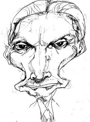 Cartoon: Charlie Watts (medium) by Andyp57 tagged caricature,ink,andyp57