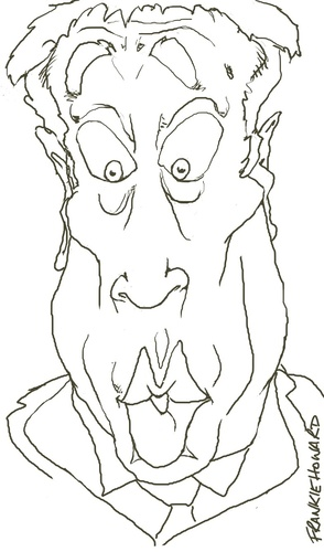Cartoon: Frankie Howard (medium) by Andyp57 tagged caricature,wacom,painter