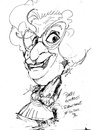 Cartoon: Dame Edna (small) by Andyp57 tagged caricature,pen,andyp57